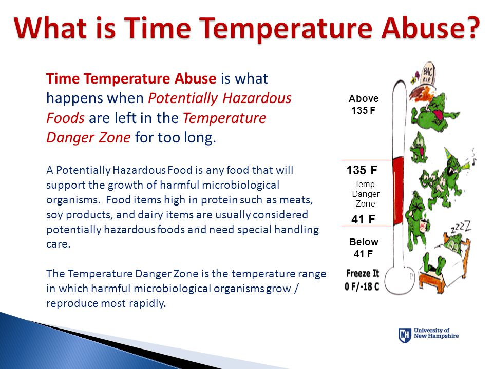 What is Time Temperature Abuse