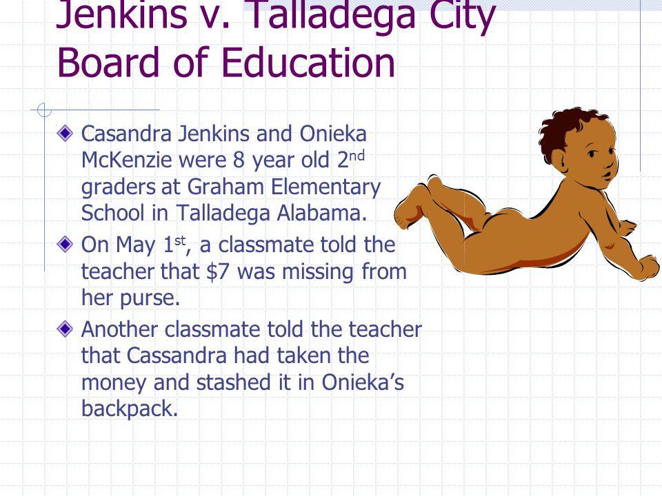 Jenkins v. Talladega City Board of Education