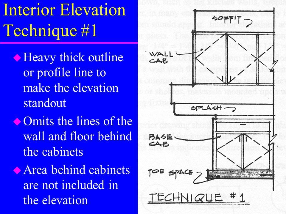 Interior Elevation Technique #1