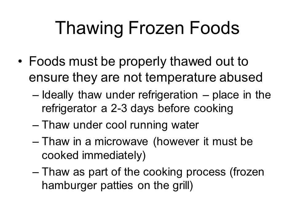 Cooling Food Properly : Annual hour food safety training ppt video online download