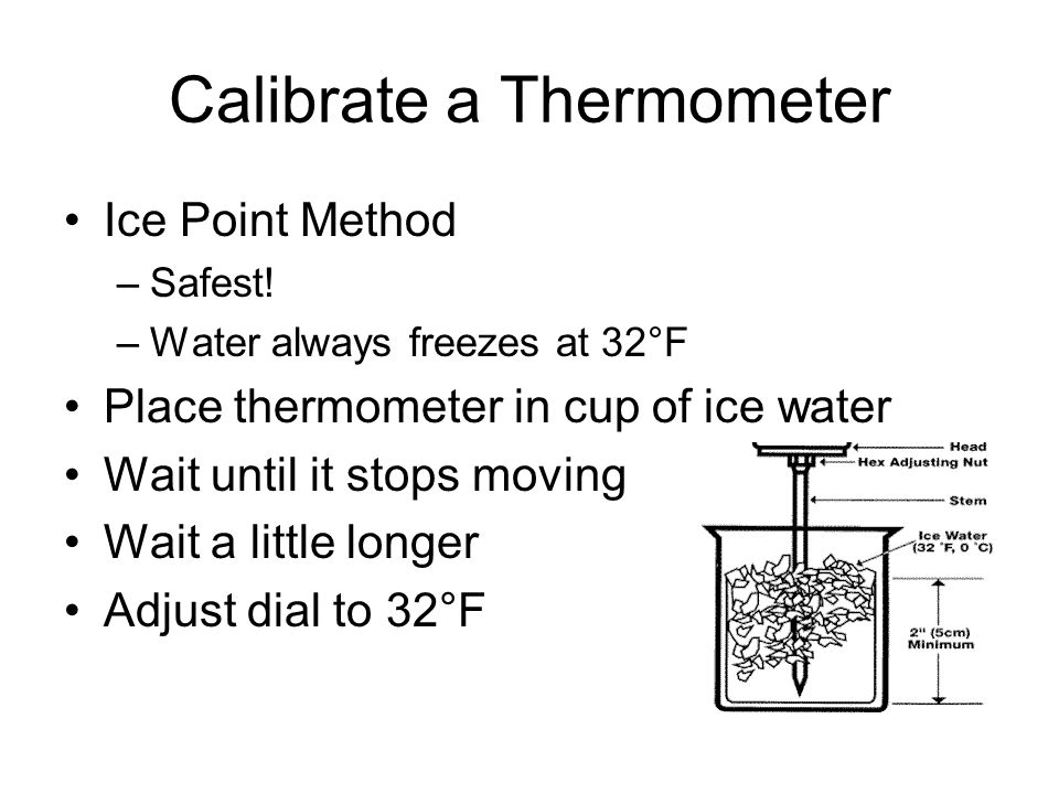 Calibrate a Thermometer