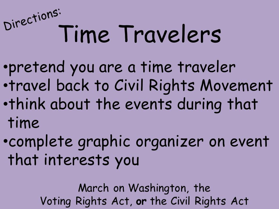Time Travelers pretend you are a time traveler