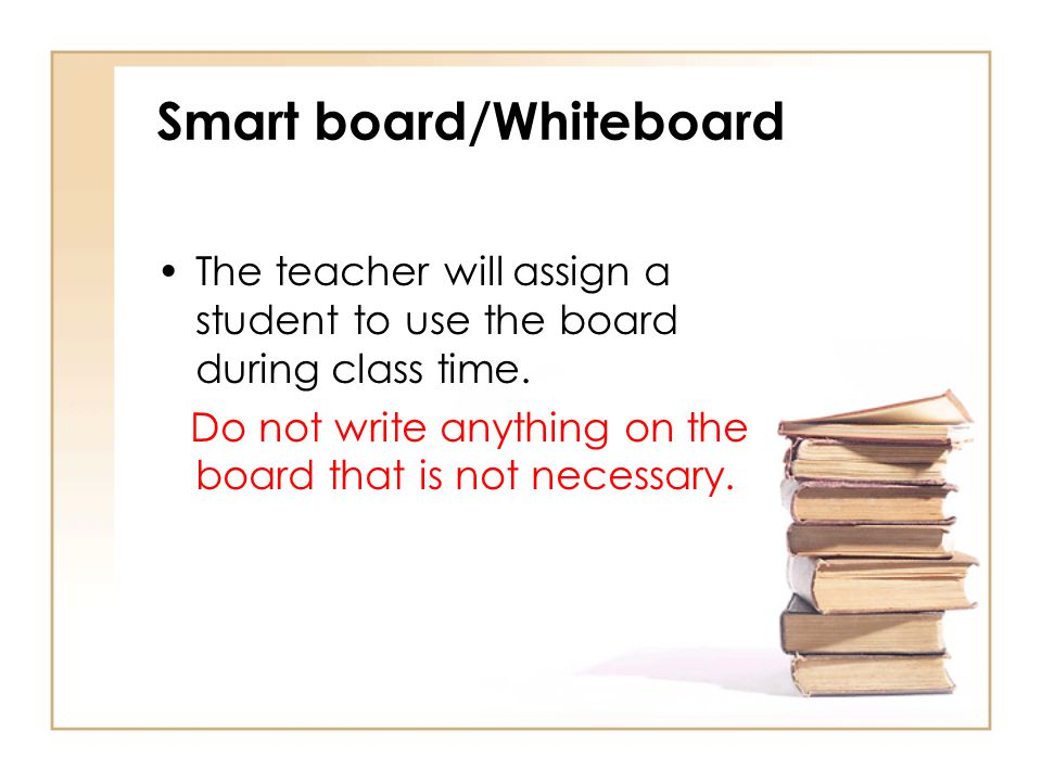 Smart board/Whiteboard