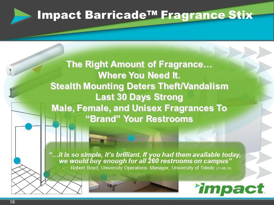 Impact Barricade™ Fragrance Stix