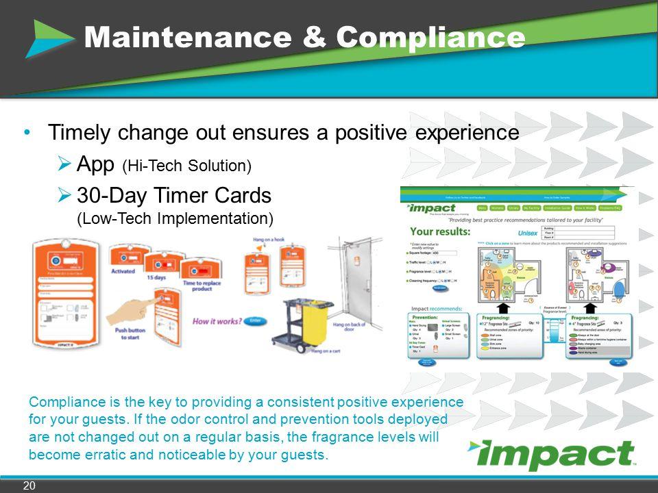 Maintenance & Compliance