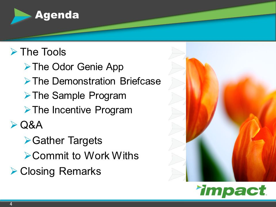 Agenda The Tools Q&A Gather Targets Commit to Work Withs