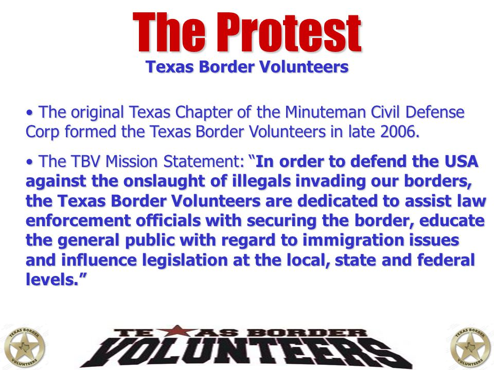 Texas Border Volunteers