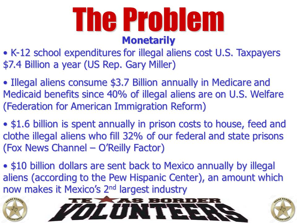 The Problem Monetarily