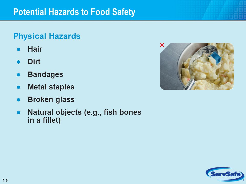 Potential Hazards to Food Safety