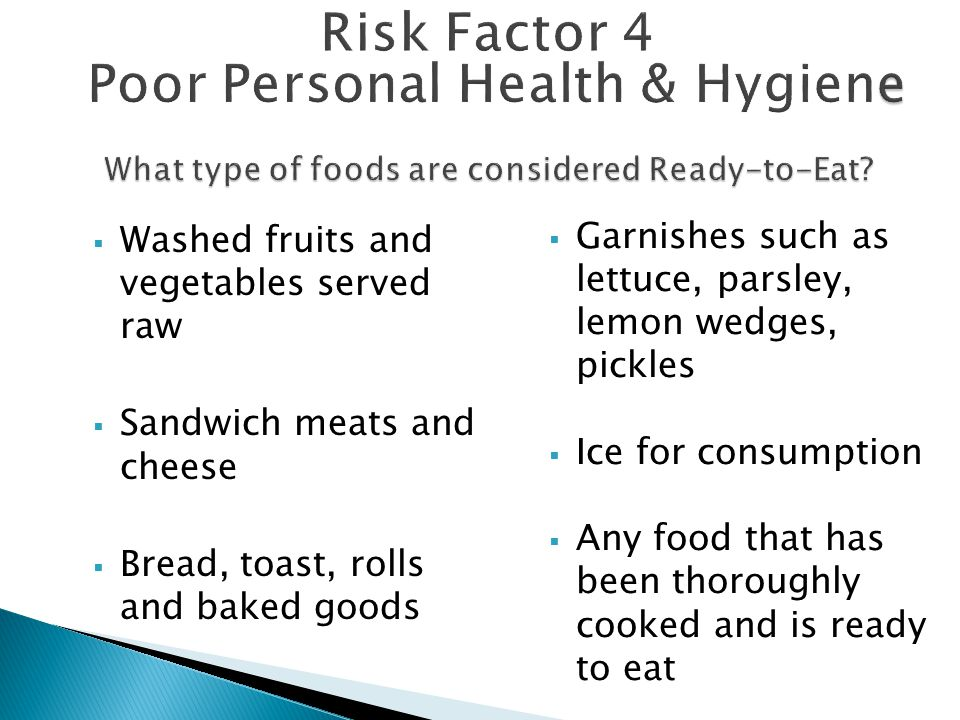 What type of foods are considered Ready-to-Eat
