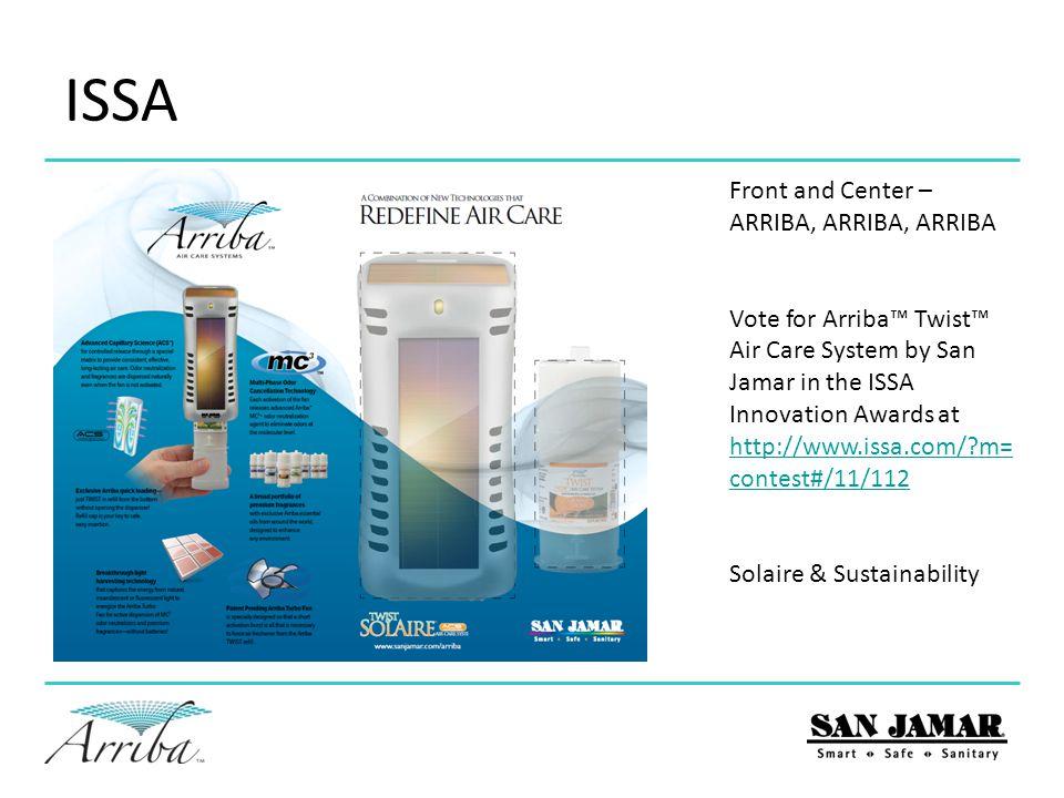 ISSA Front and Center – ARRIBA, ARRIBA, ARRIBA