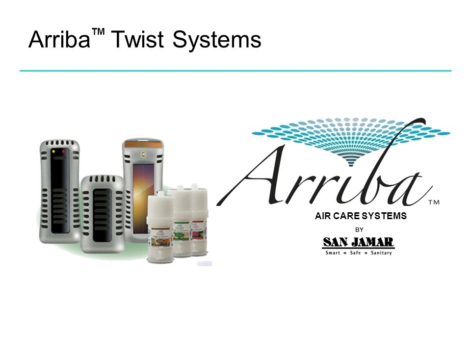 Arriba Twist Systems TM AIR CARE SYSTEMS BY