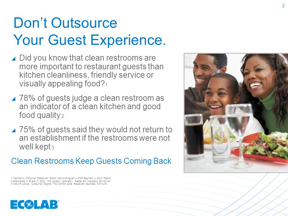 Don't Outsource Your Guest Experience.