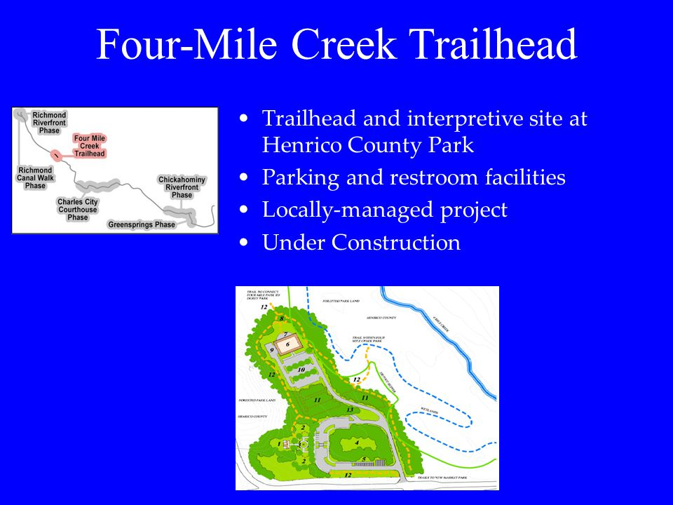 Four-Mile Creek Trailhead