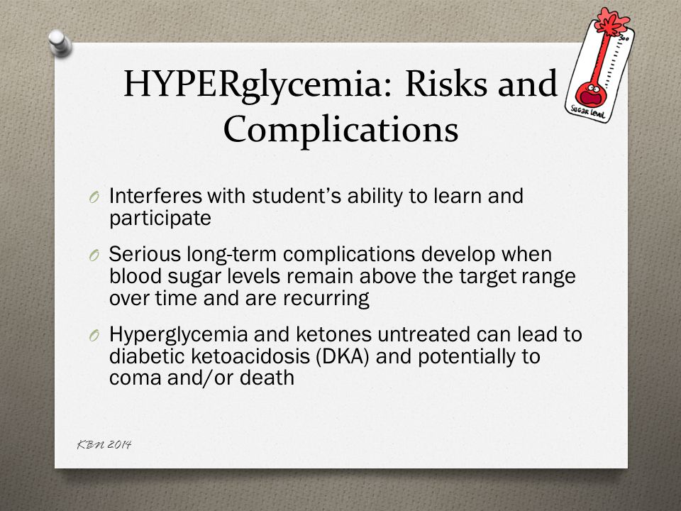 HYPERglycemia: Risks and Complications