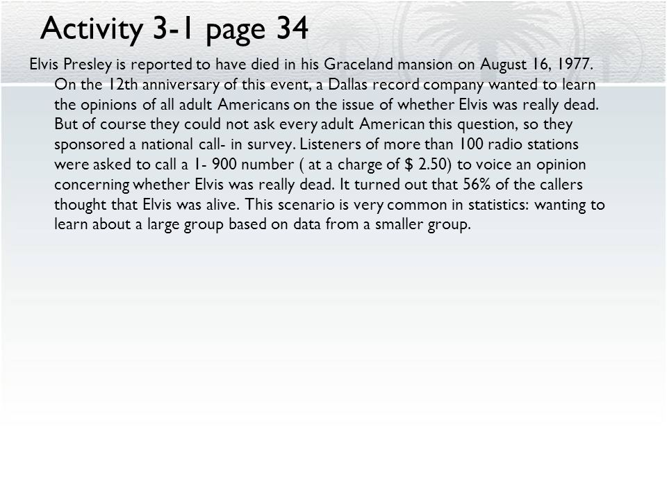 Activity 3-1 page 34