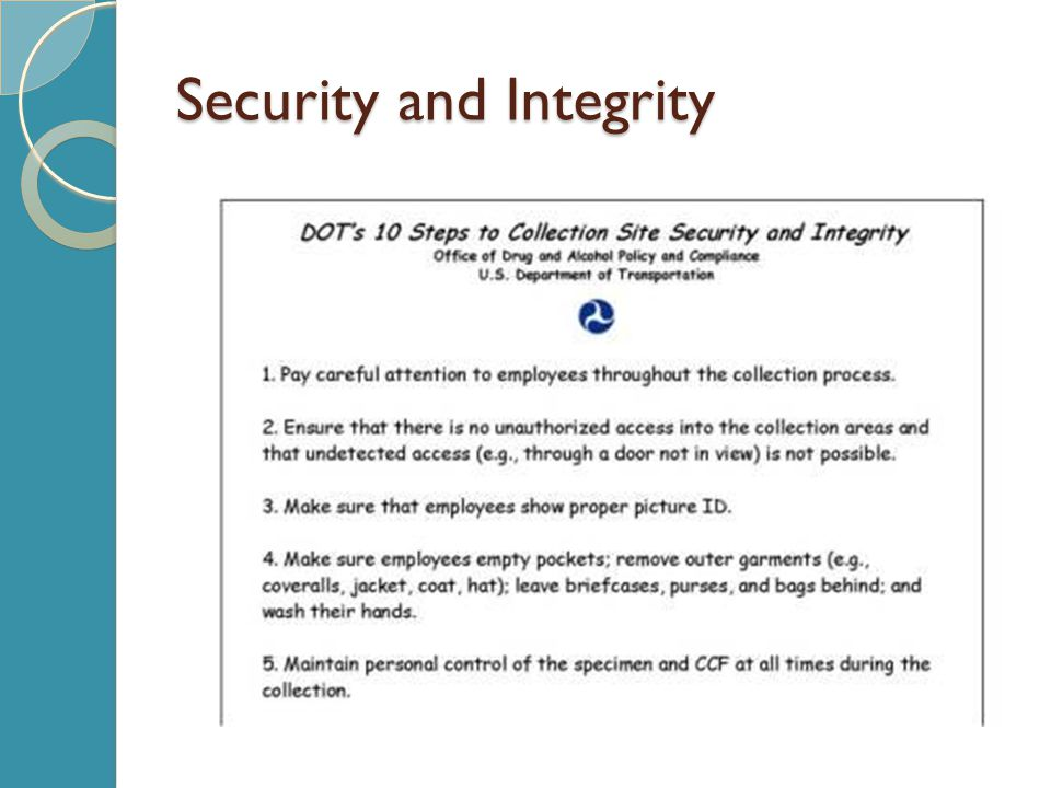 Security and Integrity
