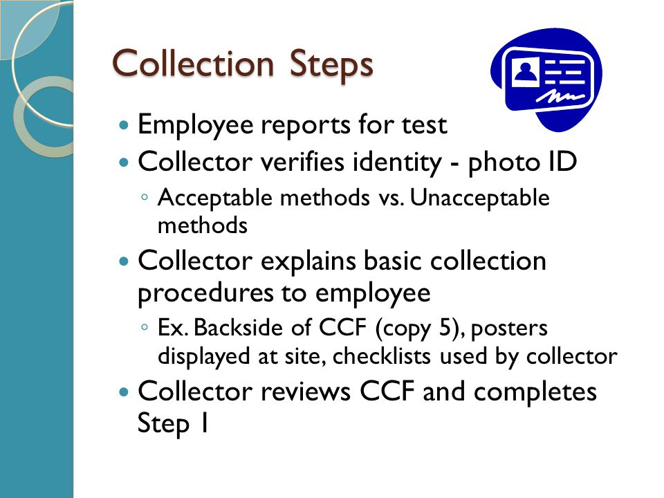 Collection Steps Employee reports for test