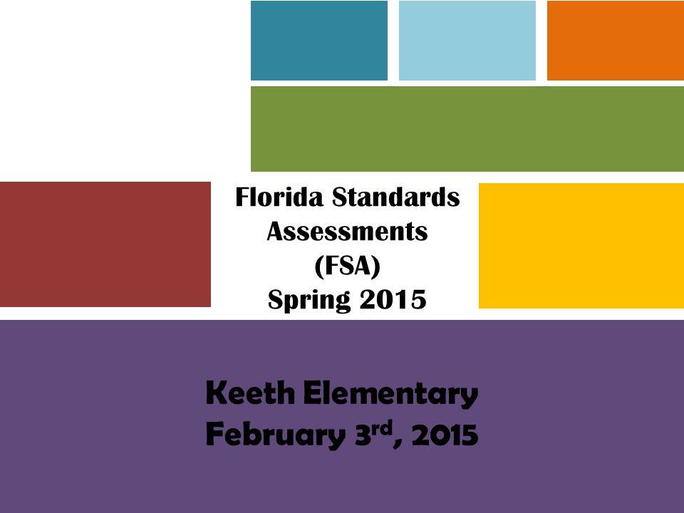 Keeth Elementary February 3rd, 2015