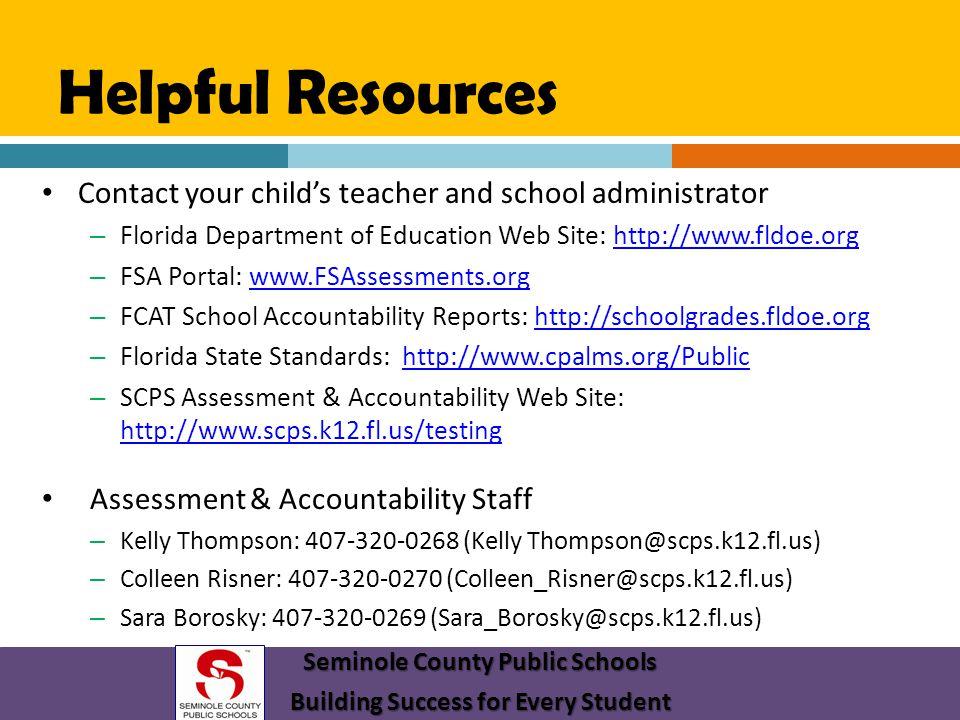 Seminole County Public Schools Building Success for Every Student
