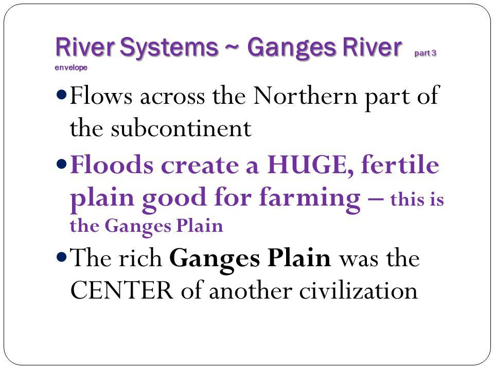 River Systems ~ Ganges River part 3 envelope