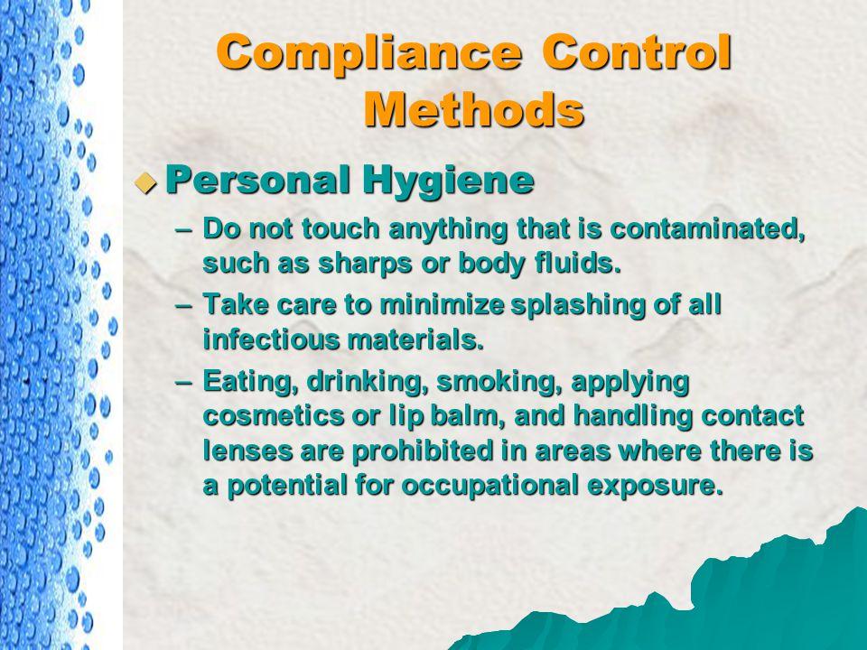 Compliance Control Methods
