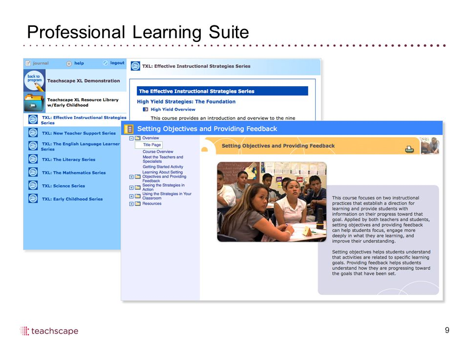 Professional Learning Suite