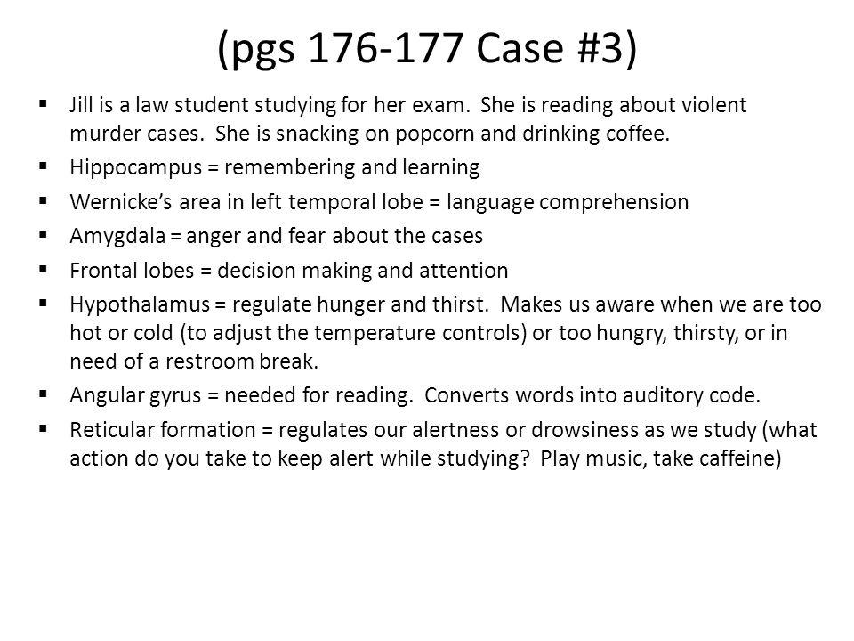 (pgs 176-177 Case #3)