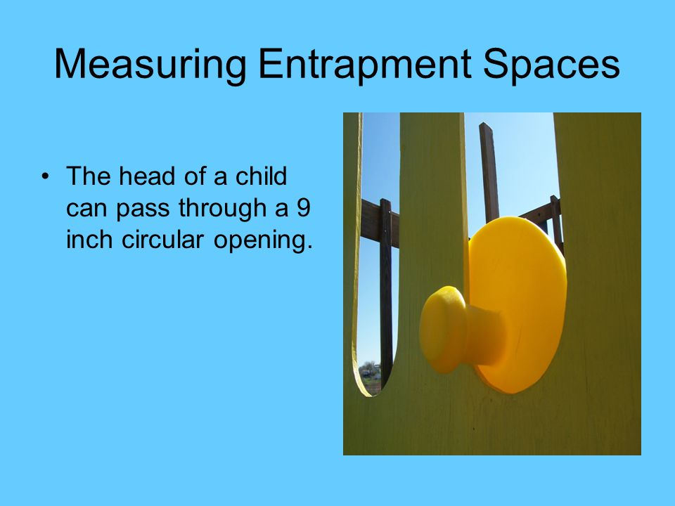 Measuring Entrapment Spaces