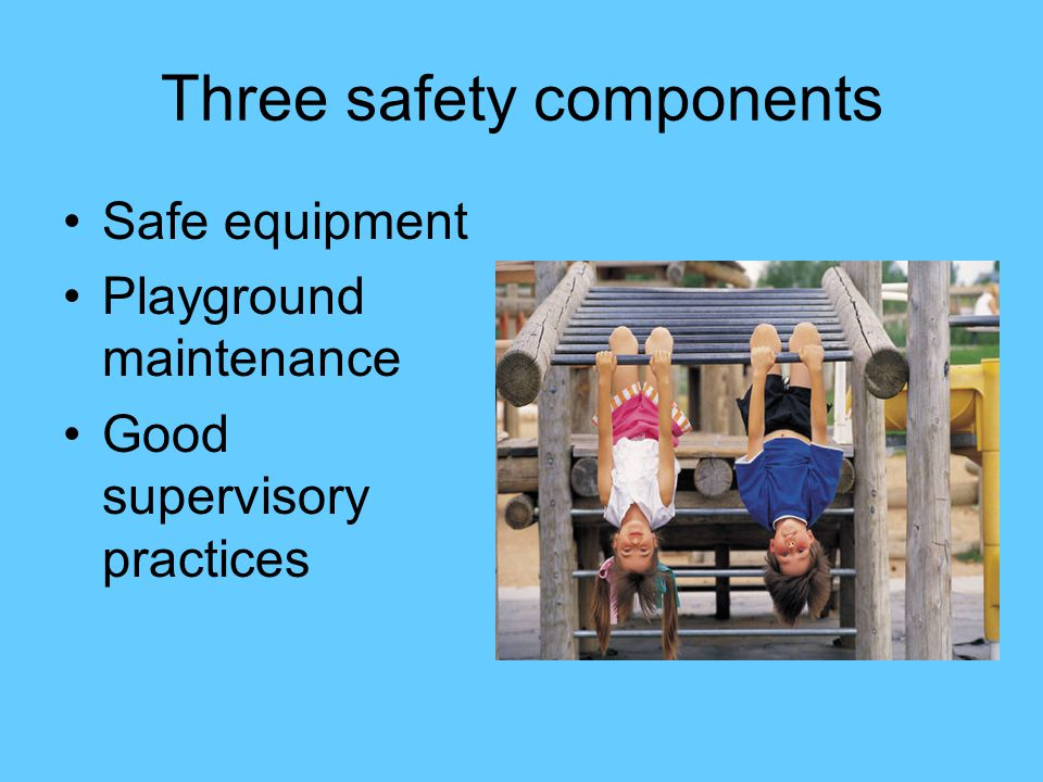 Three safety components
