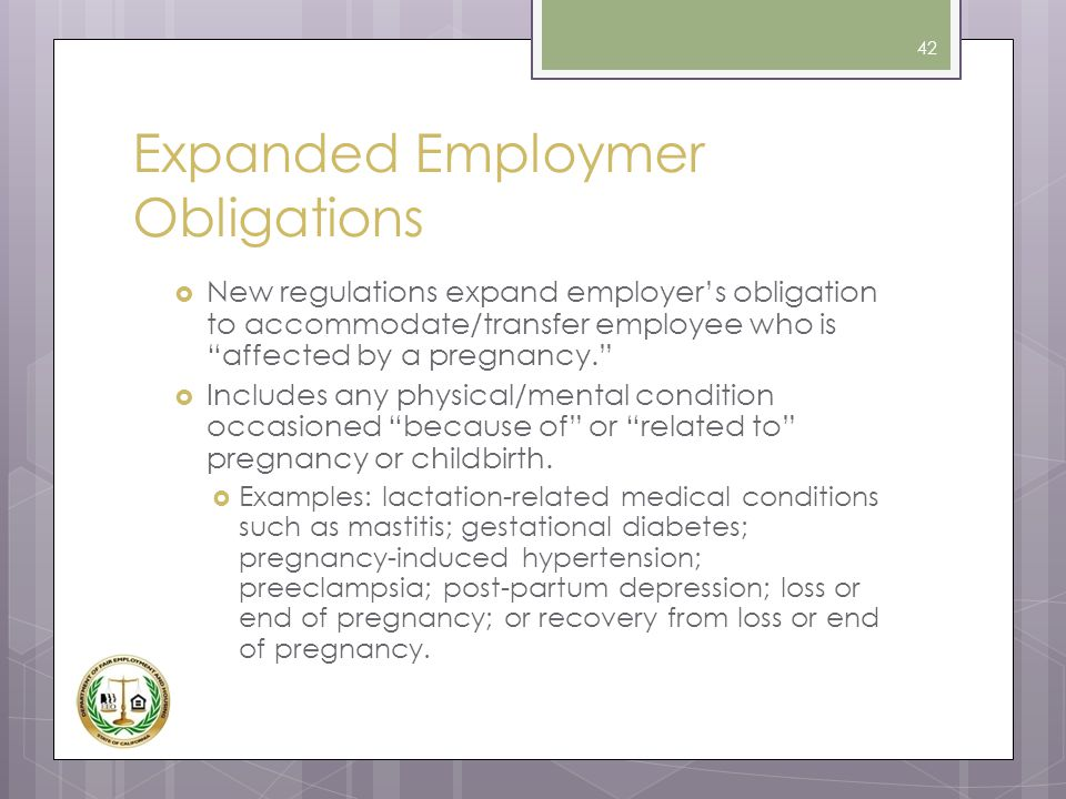 Expanded Employmer Obligations
