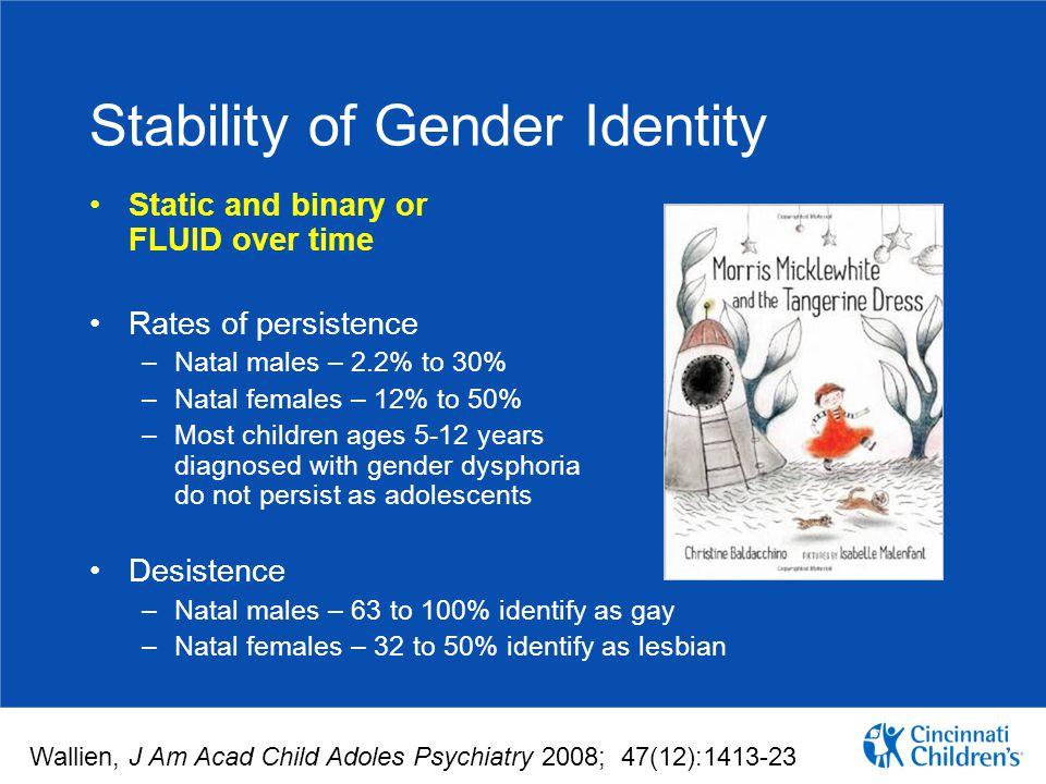 Stability of Gender Identity