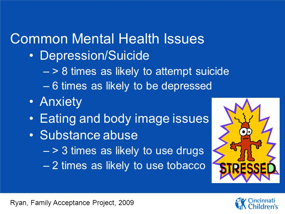 Common Mental Health Issues