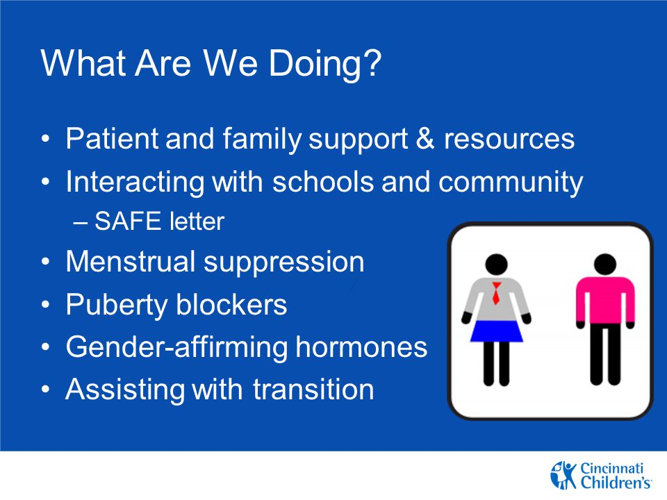 What Are We Doing Patient and family support & resources