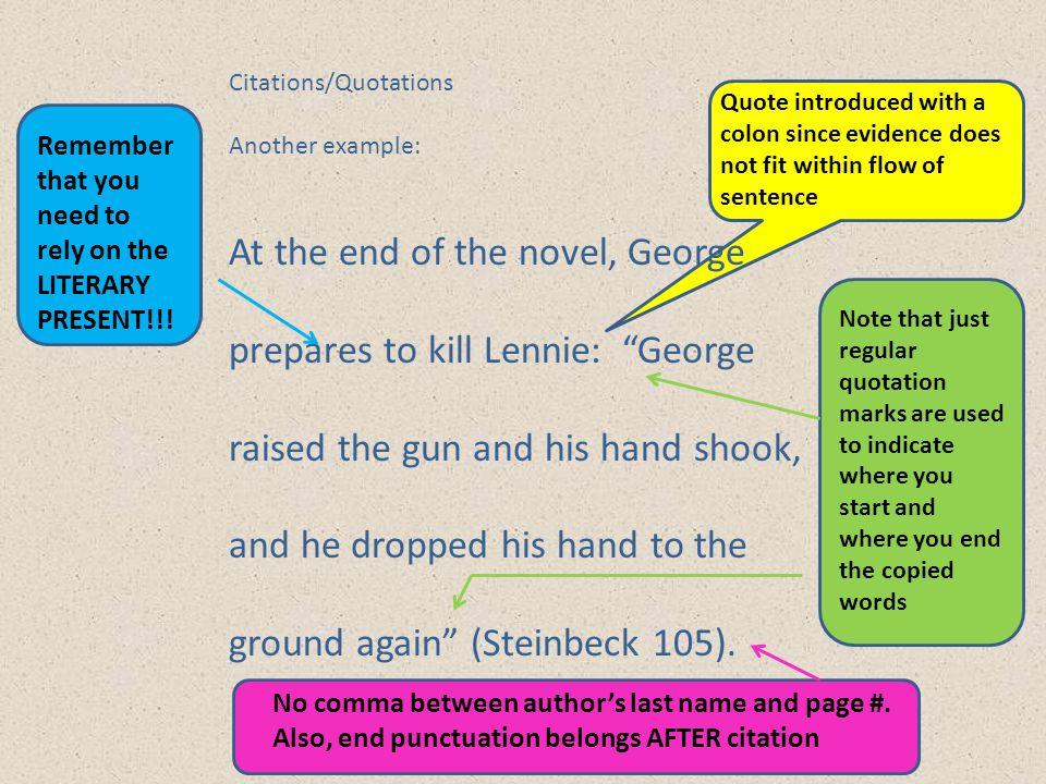 Citations/Quotations