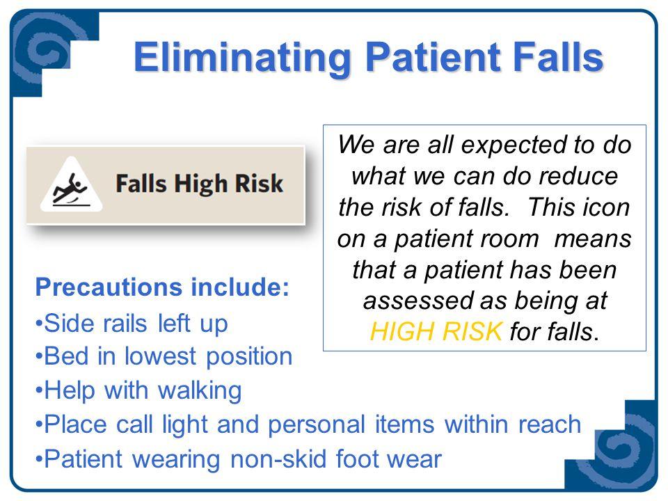 Eliminating Patient Falls