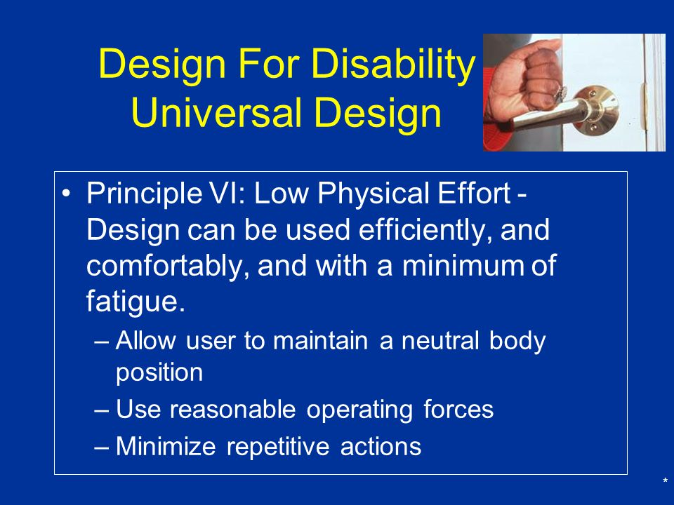Design For Disability Universal Design