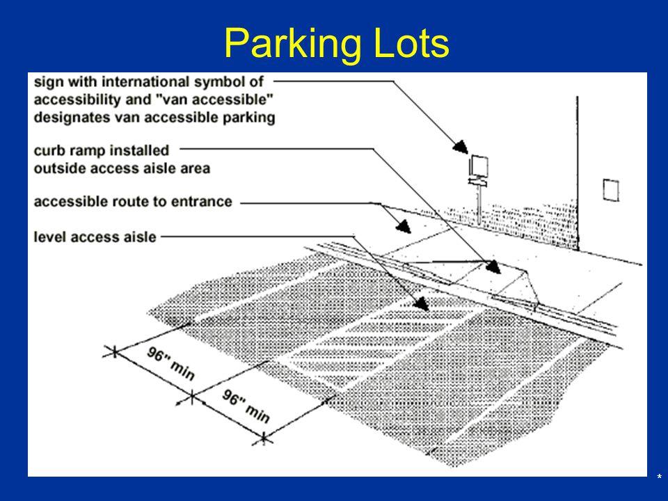 Parking Lots *