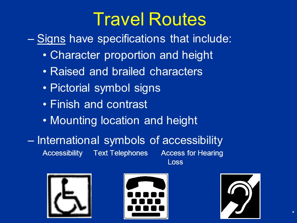 Travel Routes Signs have specifications that include: