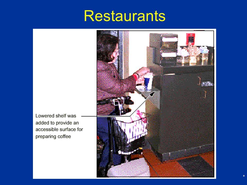 Restaurants *