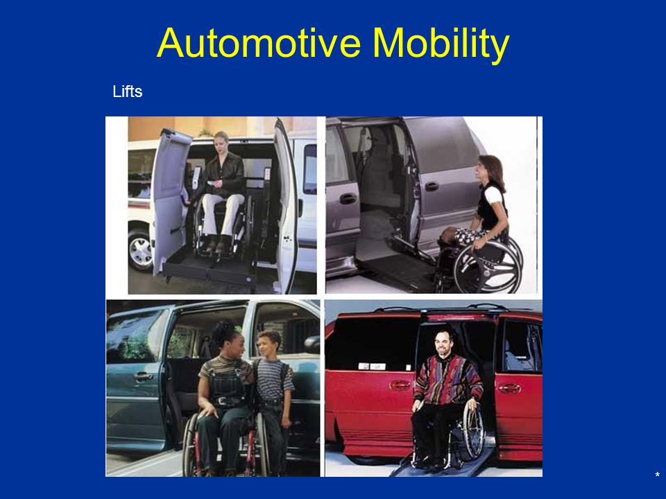 Automotive Mobility Lifts *