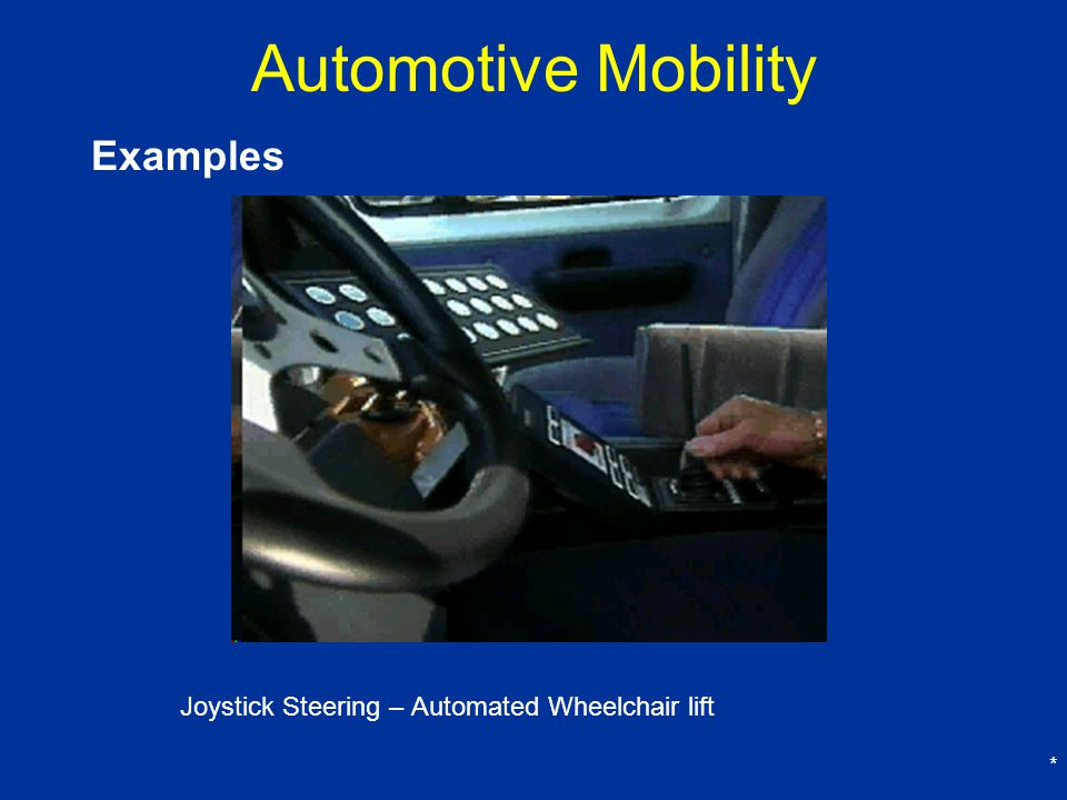 Automotive Mobility Examples