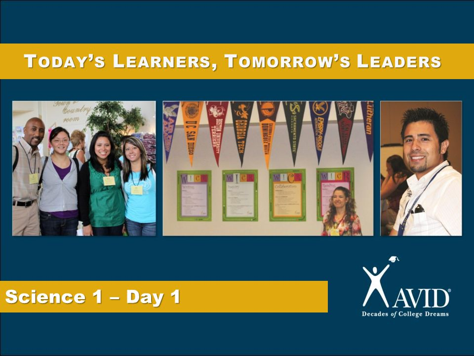 Today's Learners, Tomorrow's Leaders