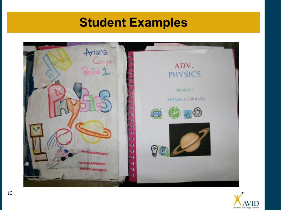 Student Examples N 10