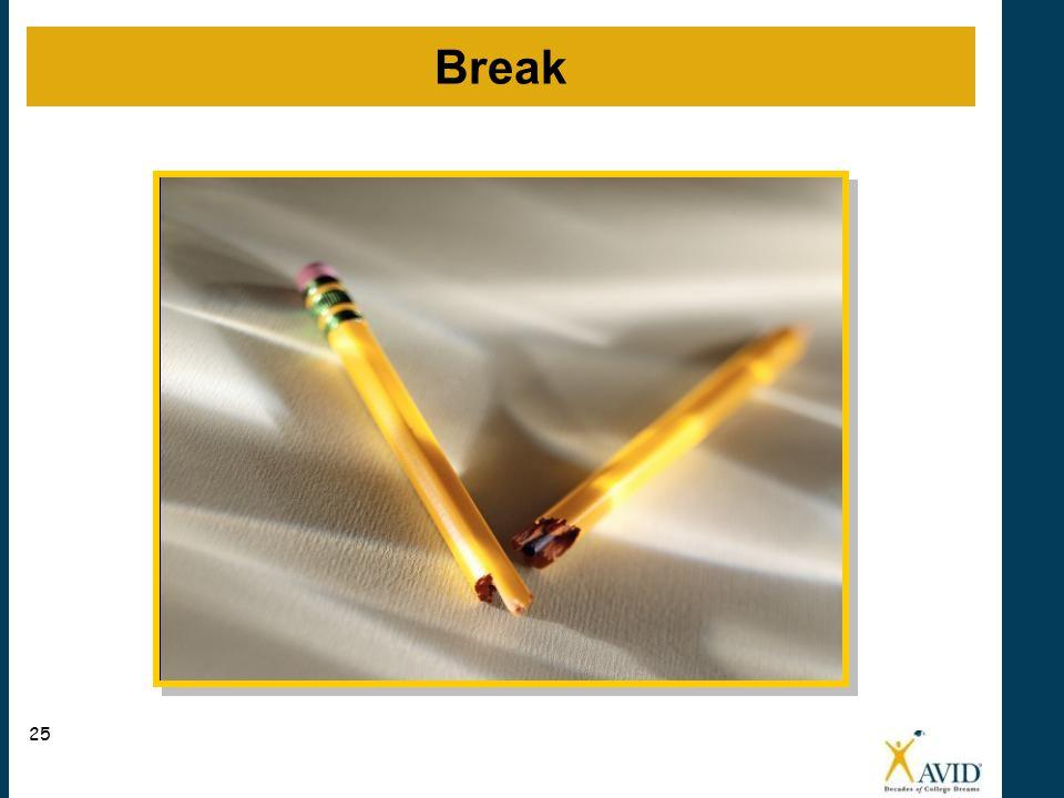 Break 25