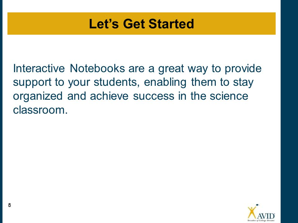 Interactive Notebooks Introduction
