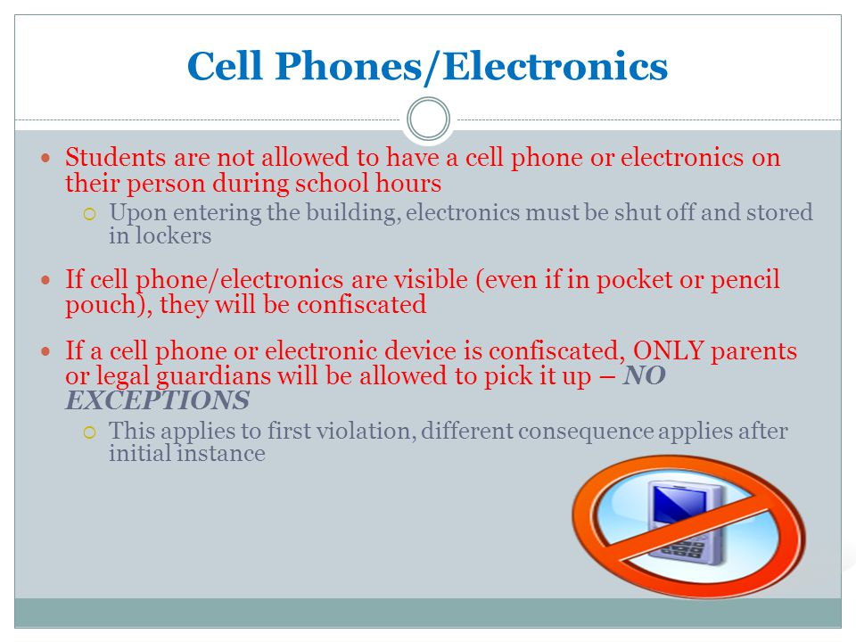Cell Phones/Electronics