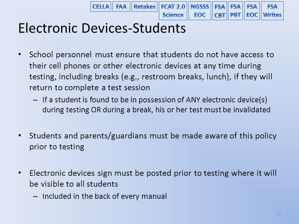Electronic Devices-Students