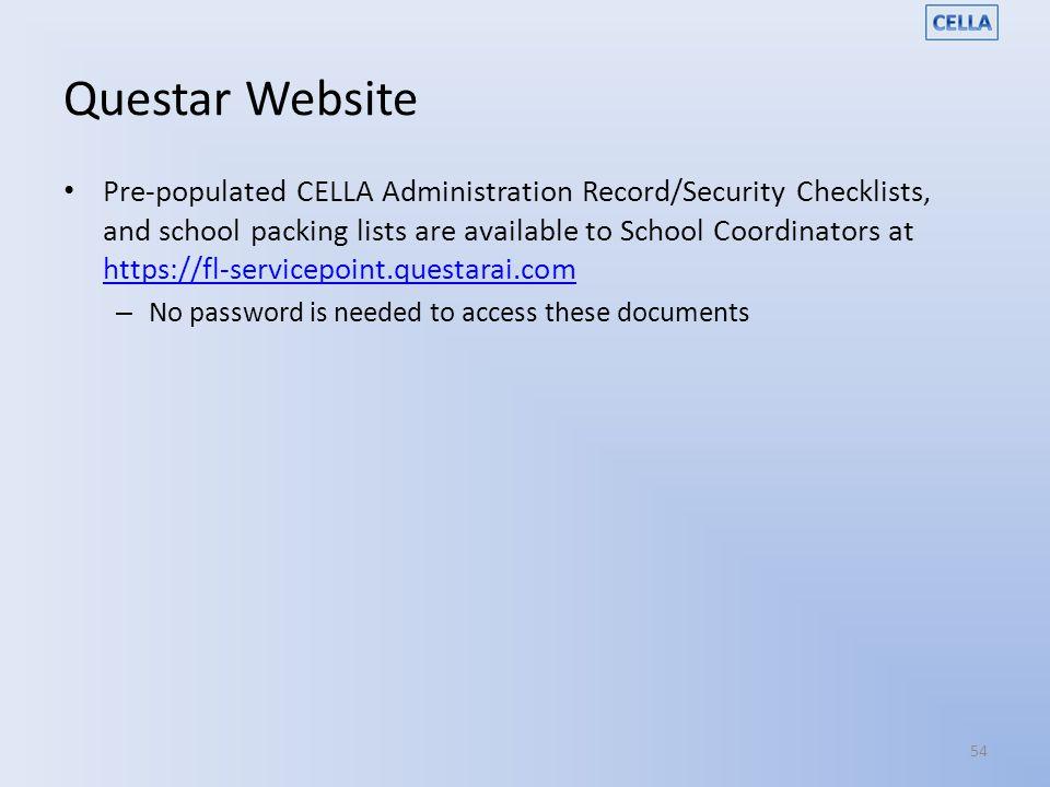 Questar Website
