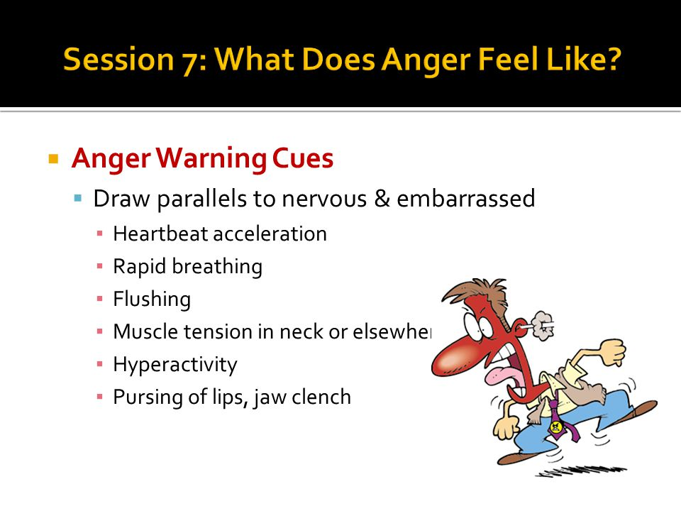 Session 7: What Does Anger Feel Like
